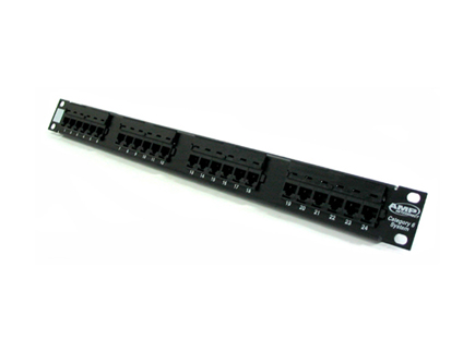 Patch panel 24 port CAT6 AMP